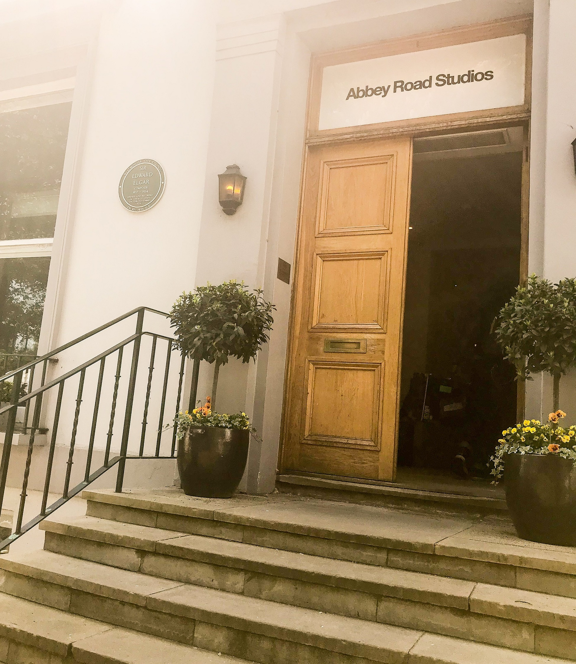 everis utilities event at Abbey Road Studios.